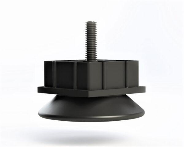 pata reguladora pie nivelador para tubo